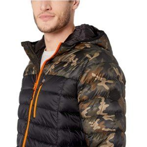 NWT. Skechers Down Jacket with hood.